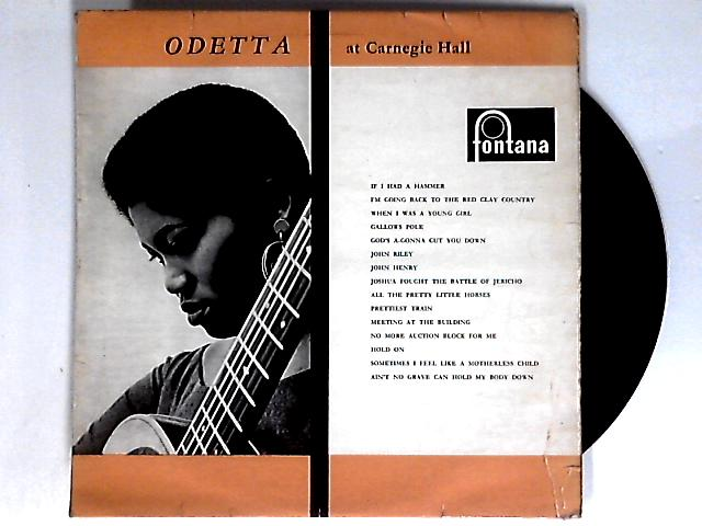 At Carnegie Hall LP 1st by Odetta
