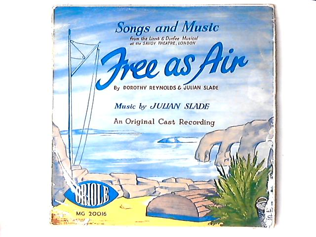 Free As Air LP by Original Cast Of Free As Air