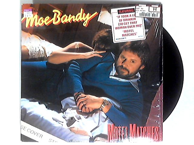 Motel Matches LP by Moe Bandy