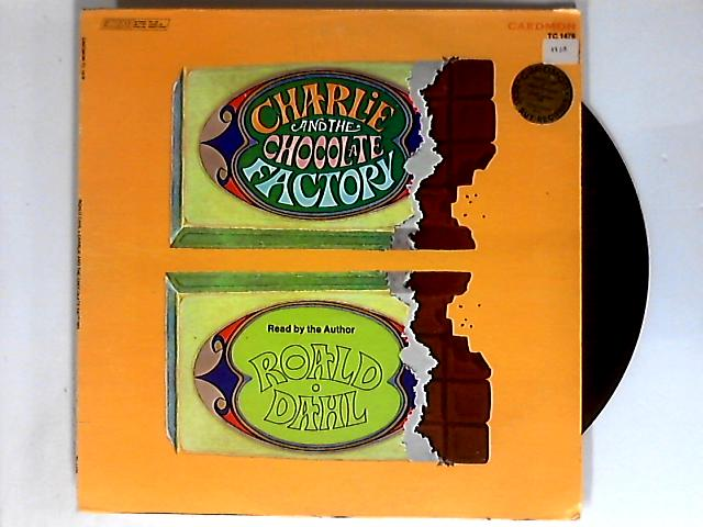 Charlie & The Chocolate Factory Read By The Author Roald Dahl LP by Roald Dahl
