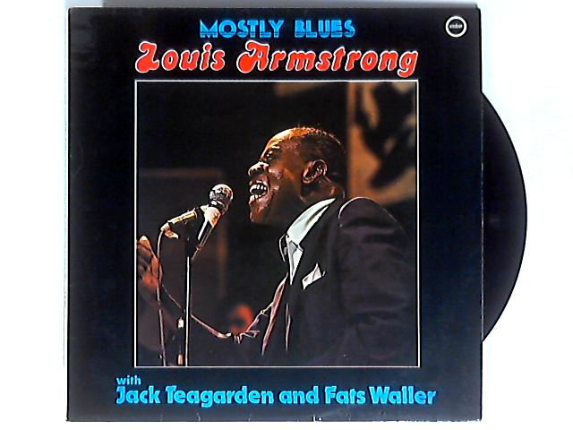 Mostly Blues LP 1st by Louis Armstrong