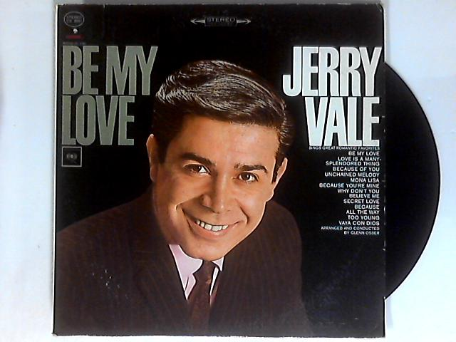 Be My Love LP by Jerry Vale