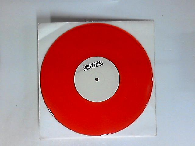 Smiley Faces 10in red by Gnarls Barkley