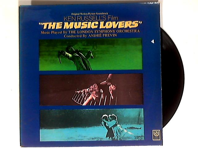 The Music Lovers OST LP 1st by Tchaikovsky / Previon / LSO