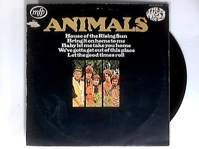 The Most Of LP 1st by The Animals