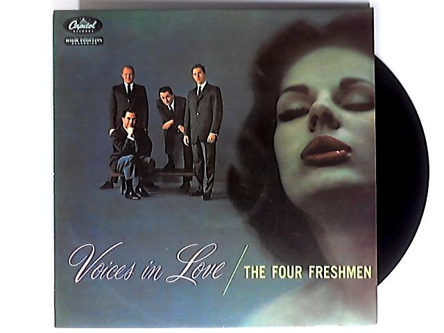 Voices In Love LP 1st by The Four Freshmen