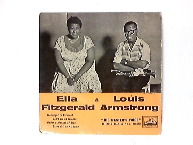 Moonlight In Vermont / Can't We Be Friends / Under A Blanket Of Blue / Stars Fell On Alabama 7in by Ella Fitzgerald