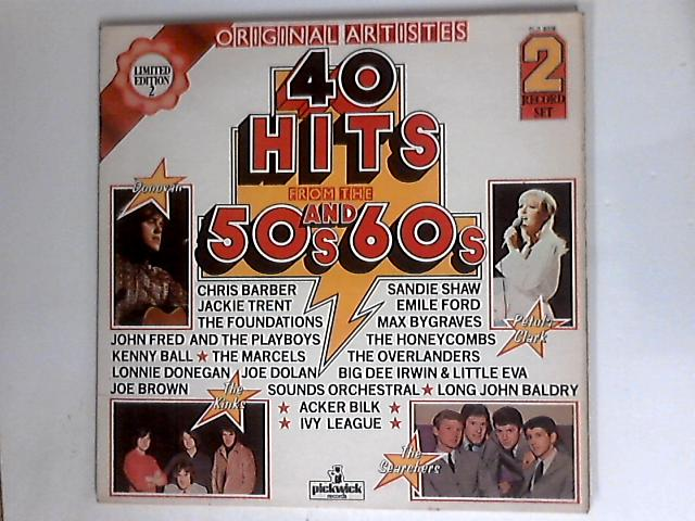 40 Hits From The 50's And 60's by Various