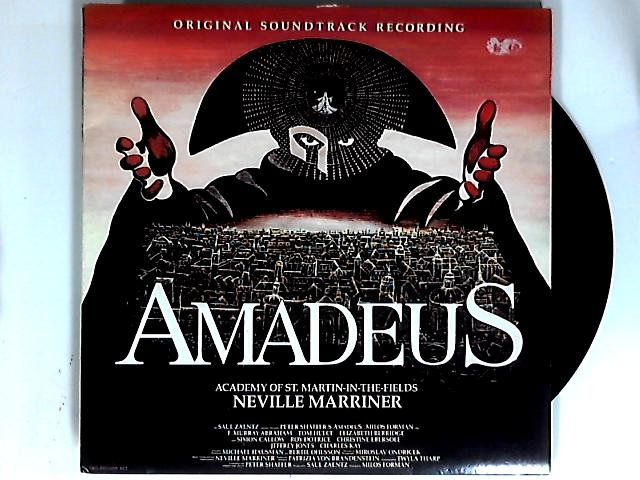 Amadeus (Original Soundtrack Recording) 2xLP by Sir Neville Marriner