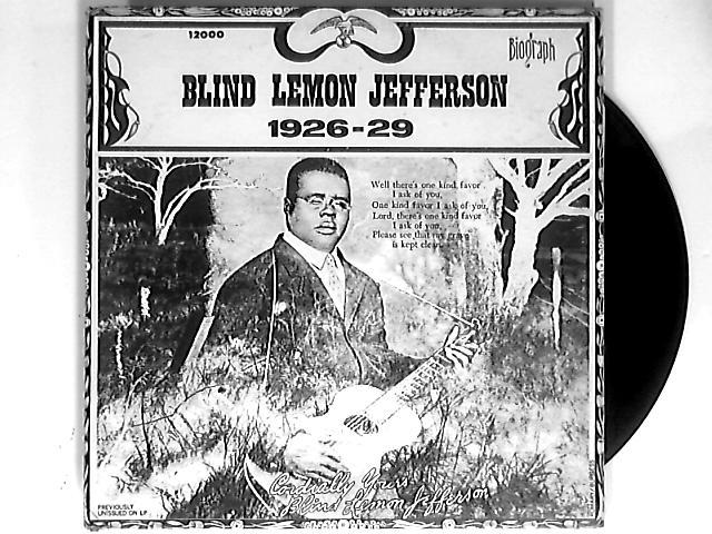 1926-29 LP by Blind Lemon Jefferson