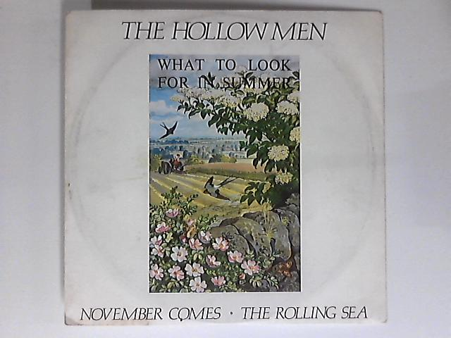 November Comes / The Rolling Sea 12in 1st by The Hollow Men
