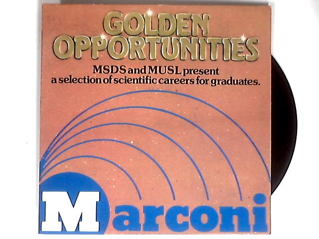 Golden Opportunities With Marconi LP 1st By Marconi