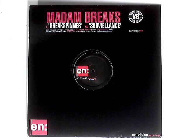 Breakspinner / Surviellance 12in 1st by Madam Breaks