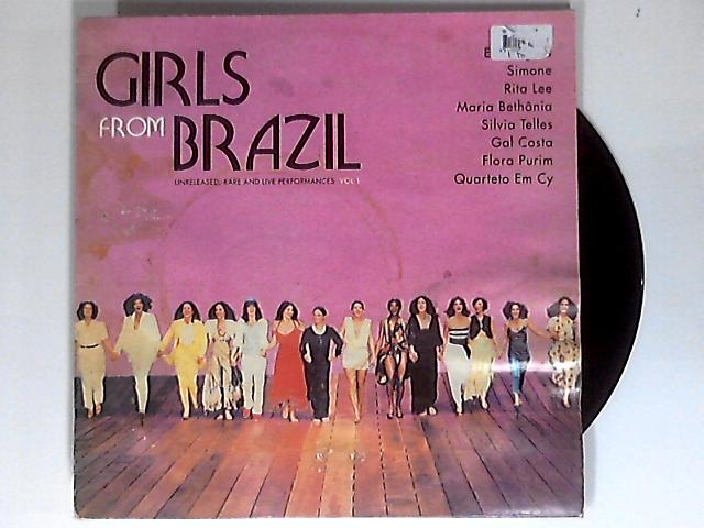 Girls From Brazil LP by Various
