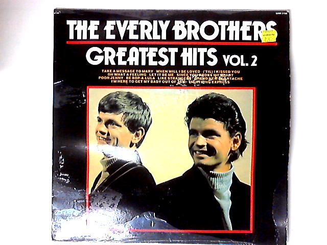 Greatest Hits Vol. 2 Comp By Everly Brothers