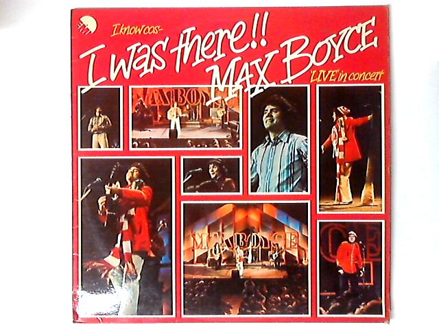 I Know 'Cos I Was There! LP by Max Boyce