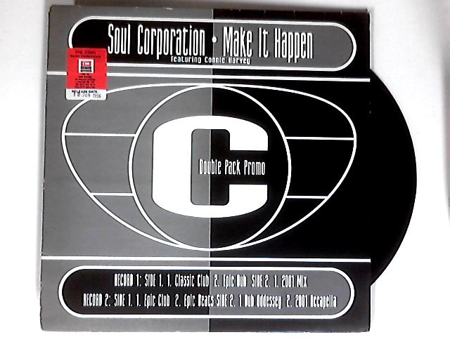 Make It Happen (For Yourself) 2x12in 1st promo by Soul Corporation