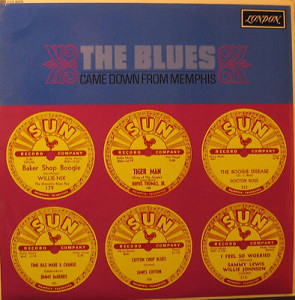The Blues Came Down From Memphis LP 1st by Various
