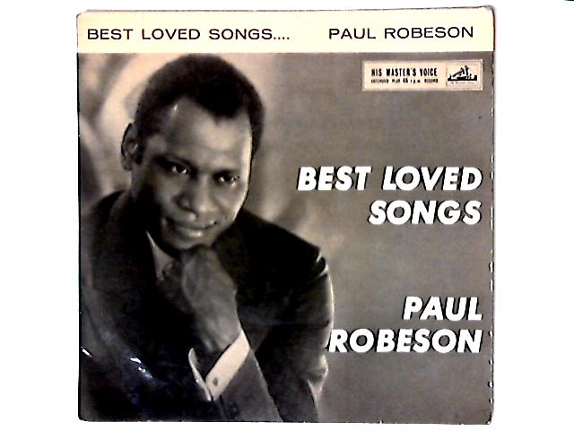 Best Loved Songs 7in EP by Paul Robeson