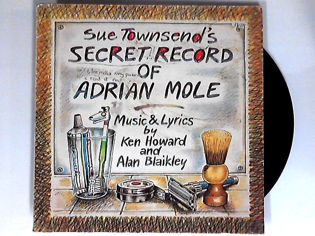 Sue Townsend's Secret Record Of Adrian Mole LP 1st by Various