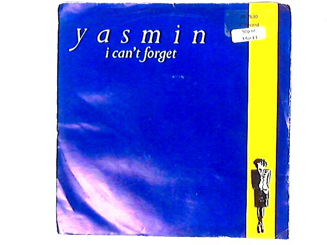 I Can't Forget 7in by Yasmin James