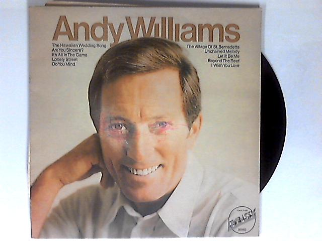 Andy Williams LP 1st by Andy Williams