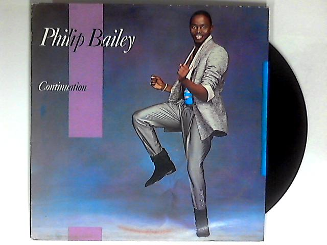 Continuation LP 1st by Philip Bailey