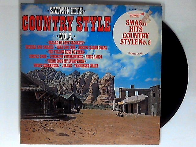 Smash Hits Country Style No. 5 LP 1st by Various