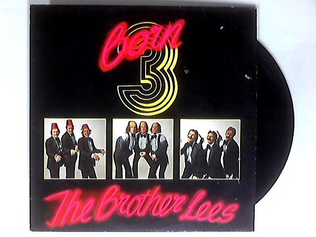 Born 3 LP SIGNED by The Brother Lees
