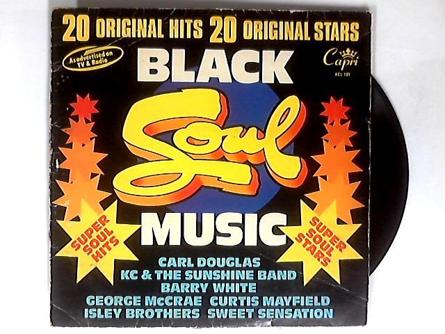 Black Soul Music LP by Various