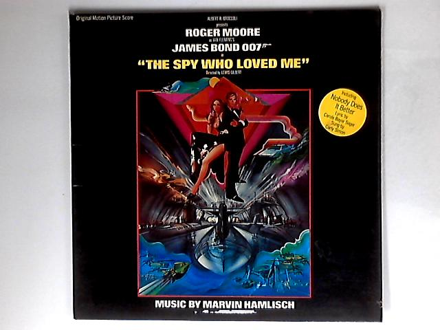 The Spy Who Loved Me (Original Motion Picture Score) by Marvin Hamlisch