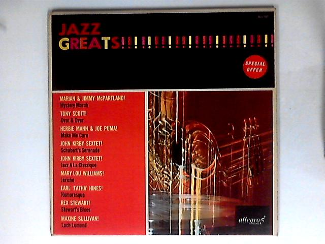 Jazz Greats By Various
