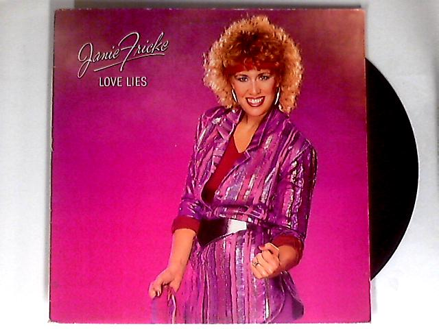 Love Lies LP 1st by Janie Fricke