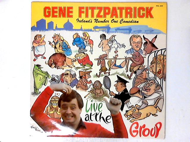 Live At The Group Theatre LP by Gene Fitzpatrick