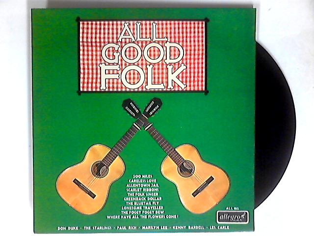 All Good Folk LP By Various