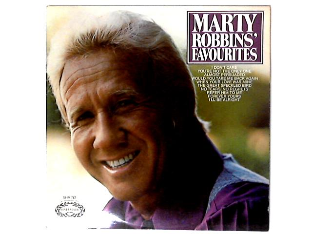 Marty Robbins' Favourites Comp By Marty Robbins