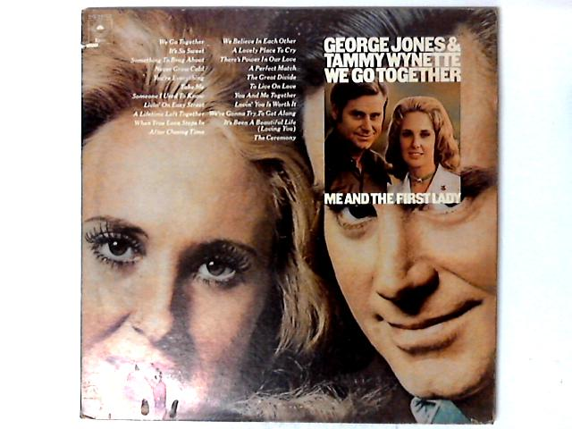 We Go Together / Me And The First Lady 2 x LP Comp Gat By George Jones & Tammy Wynette
