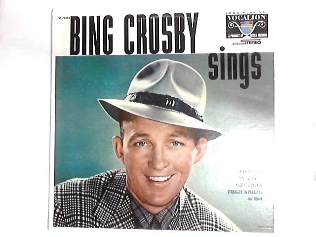 bing crosby sings vinyl