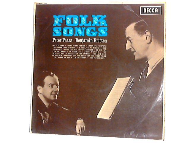Folk Songs LP by Peter Pears