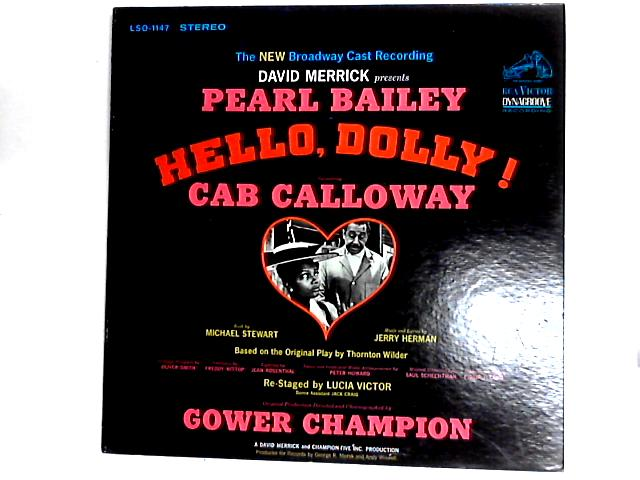 Hello, Dolly! - The New Broadway Cast Recording LP by David Merrick