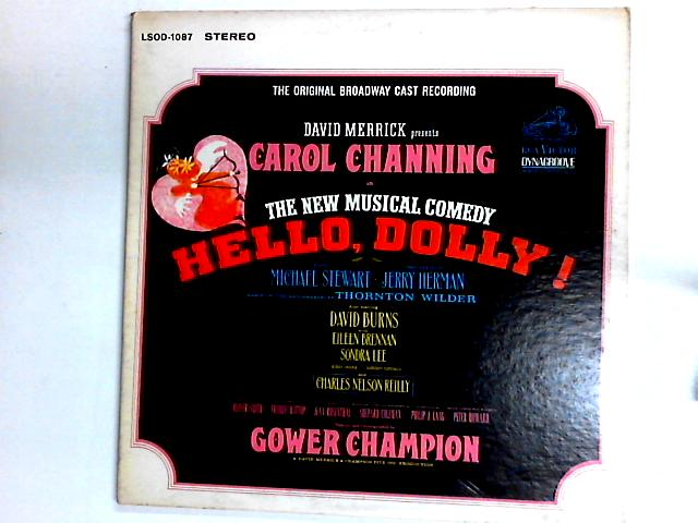 Hello, Dolly! (The Original Broadway Cast Recording) LP Gat by David Merrick