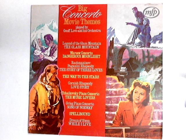 Big Concerto Movie Themes LP by Geoff Love & His Orchestra
