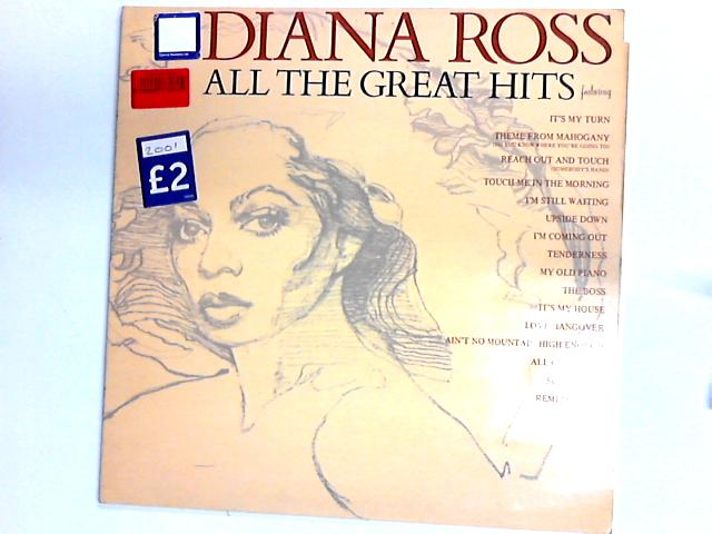 All The Great Hits Comp by Diana Ross