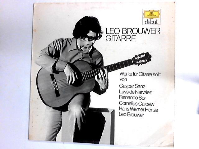 Werke F by Leo Brouwer