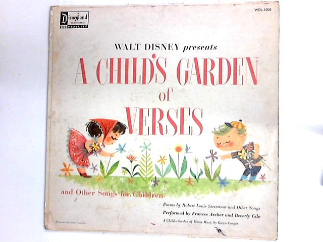 Walt Disney Presents A Child's Garden Of Verses And Other Stories For Children by Frances Archer