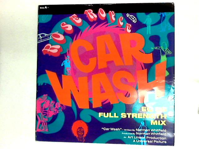 Car Wash (EQ 88 Full Strength Mix) 12in by Rose Royce