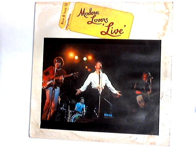 Live LP by Jonathan Richman & The Modern Lovers