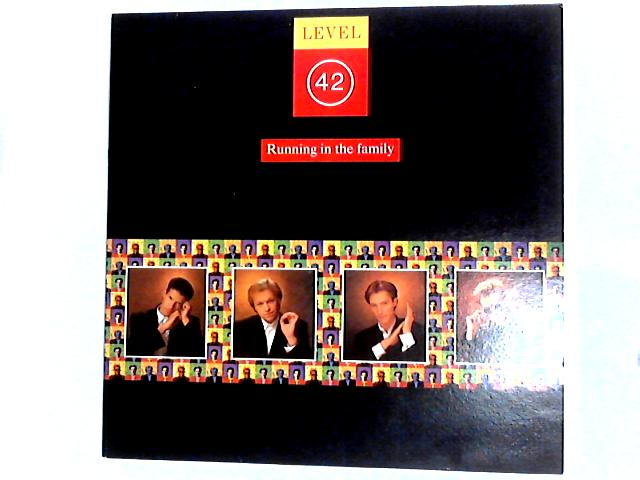 Running In The Family LP by Level 42