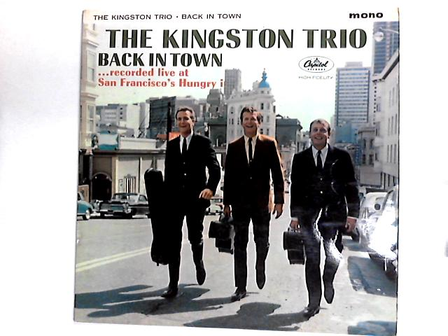 Back In Town LP By Kingston Trio