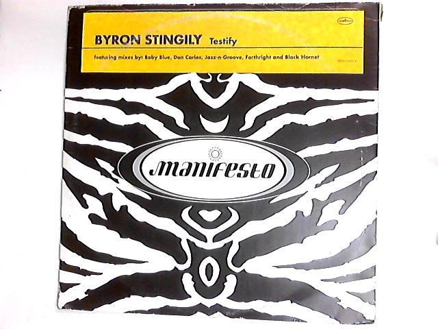 Testify 2 x 12in by Byron Stingily